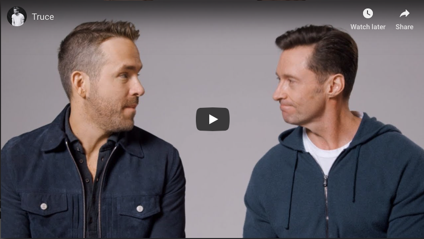 Hugh Jackman and Ryan Reynolds make ads for each other Image