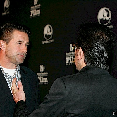 Billy Baldwin talks with Roger Durling