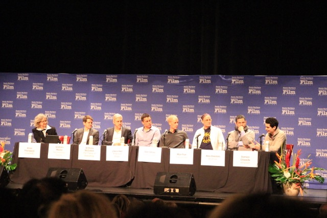 2015 Santa Barbara International Film Festival Writers Panel Image